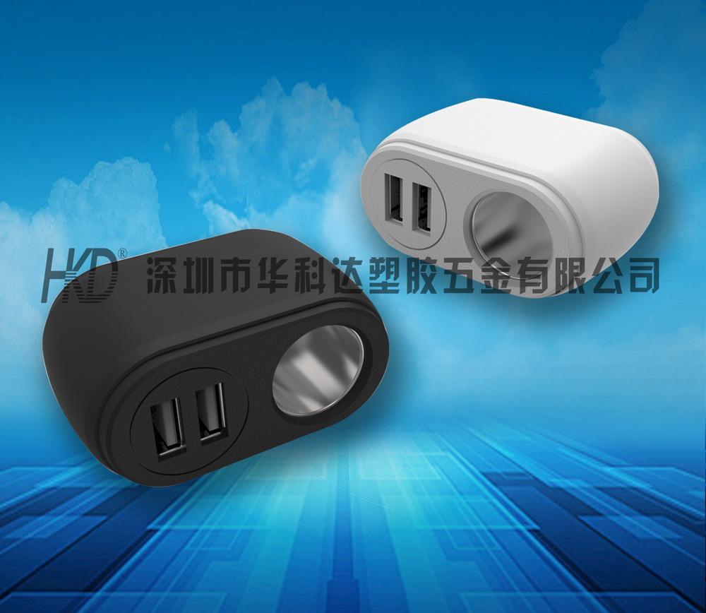 519单孔双USB口